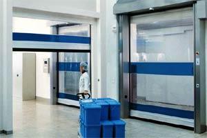 Гибкие вертикальные скоростные ворота Hormann V 1401 ATEX, V 2515 FOOD, V 3015 CLEAN, V 4014 COLD специального назначе