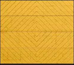 Деревянные секционные ворота Hormann LTH 40 серии Design мотив 402