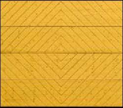 Деревянные секционные ворота Hormann LTH 40 серии Design мотив 403
