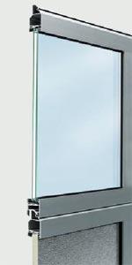Панели секционных ворот Hormann ALR 40 из алюминия