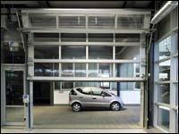 Секционные ворота Hormann серии ALU-R (compact)
