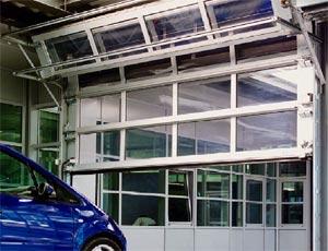 Промышленные алюминиевые секционные ворота Hormann ALU-R compact