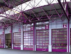 Секционные ворота Hormann  для промышленных объектов Цветовые решения.