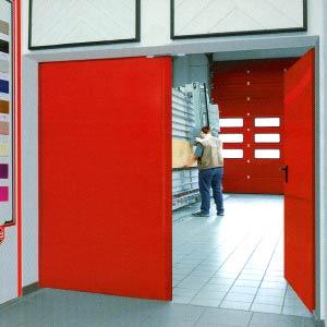 Противопожарные двери Hormann (Херман)  серии H16 двухстворчатые T90-2