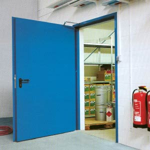 Противопожарные двери Hormann (Херман)  серии H16 одностворчатые T90-1