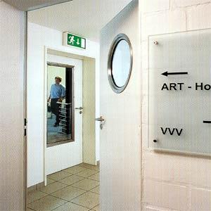 Противопожарные двери Hormann (Херман)  серии H3 одностворчатые T30-1