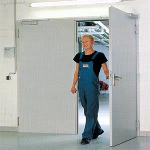 Противопожарные двери Hormann (Херман)  серии H3-D двухстворчатые T30-2