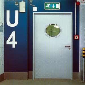 Противопожарные двери Hormann (Херман) серии H3-D одностворчатые T30-1