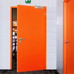 Противопожарные двери Hormann (Херман)  серии HG 24 одностворчатые T30-1