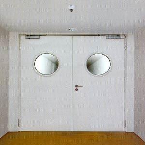 Дымозащитные двери Hormann (Херман)  серии RS 55 двухстворчатые
