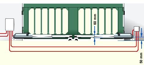 Электро приводы ворот Hormann серии DTA для распашных ворот данные для монтажа