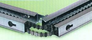 Электро привод ворот Hormann серии EcoStar: направляющая шина, состоящая из трех частей