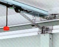 Электро приводы ворот Hormann серии EcoStar универсальная направляющая  на секционных воротах