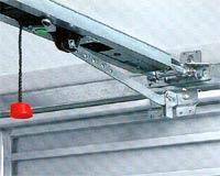 Электро приводы ворот Hormann серии EcoStar универсальная направляющая  на подъемно-поворотных воротах