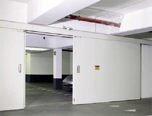 Противопожарные ворота Hormann двустворчатые HG 17 класс T90