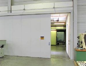 Противопожарные ворота Hormann одностворчатые HG 21 класс T30
