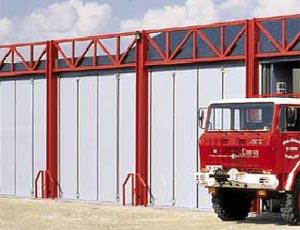Скоростные складные ворота Hormann