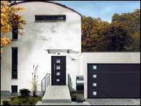 Стальные секционные ворота Hormann серии Design