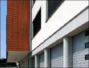 Стальные секционные ворота Hormann LTE 40, LPU 40 гофр типа S