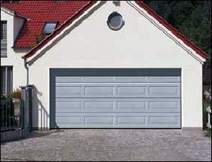 Стальные секционные ворота Hormann LPU 40 кассета типа L