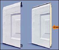 Панели секционных ворот Hormann кассета типа M