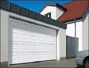 Стальные секционные ворота Hormann LTE 40, EPU 40 кассета типа S