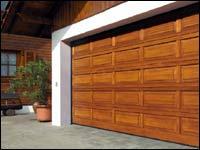 Деревянные секционные гаражные ворота Hormann серии LTH (кассета тип V)