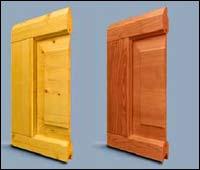 Панели деревянных секционных ворот Hormann касета типа V