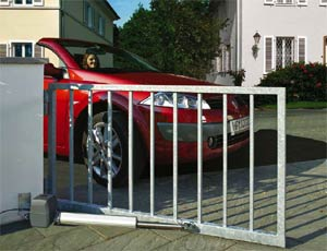 Электро приводы ворот Hormann серии RotaMatic PL для распашных ворот