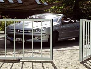 Электро приводы ворот Hormann серии RotaMatic Akku для распашных ворот