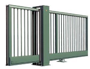 Откатные ворота Hormann HS  общий вид.