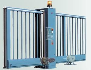 Откатные ворота Hormann серии HS конструкция.