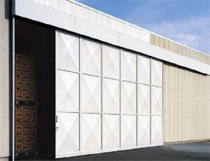 Ангарные откатные ворота Hormann серии KSE из стали