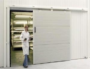 Откатные ворота Hormann LSP из стали  для промышленных объектов.