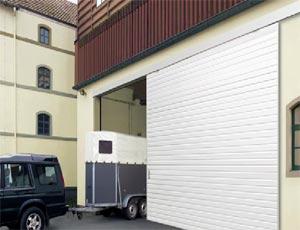 Ангарные откатные ворота Hormann серии LSP из стали