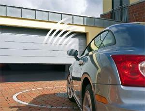 Электро приводы ворот Hormann серии SupraMatic H с пультом ДУ для секционных гаражных ворот