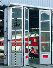 Складные скоростные ворота Hormann серии AFA.