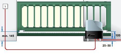 Электро приводы ворот Hormann серии STA для откатных ворот данные для монтажа