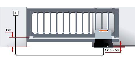 Электро приводы ворот Hormann серии STA 90 для откатных ворот данные для монтажа