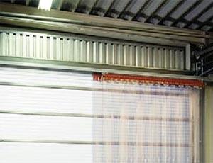 Пластиковые завесы ПВХ Hormann SVF для промышленных объектов