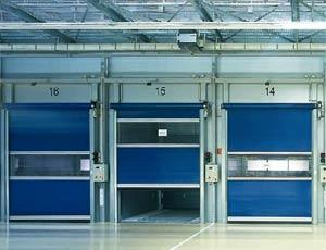 Гибкие вертикальные скоростные ворота Hormann V 5015 SE внутреннего применения